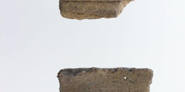 Transición 1ª-2ª Edad del Hierro. Olla con decoración acanalada. O Cepo (San Cibrao de Viñas, Ourense)